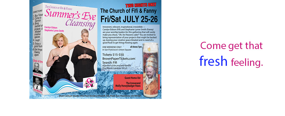 Fifi and Fanny Posters