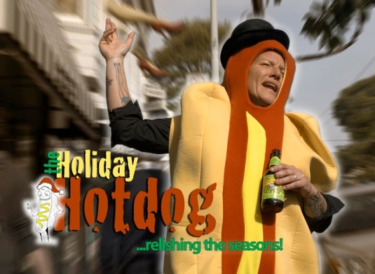 Jen Brown is the Holiday Hotdog