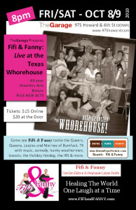 Fifi & Fanny LIVE at the Texas Whorehouse