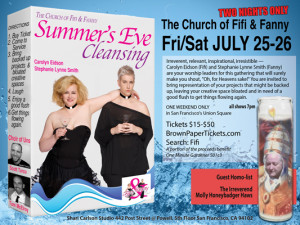 Church of Fifi and Fanny: Summer's Eve Cleansing
